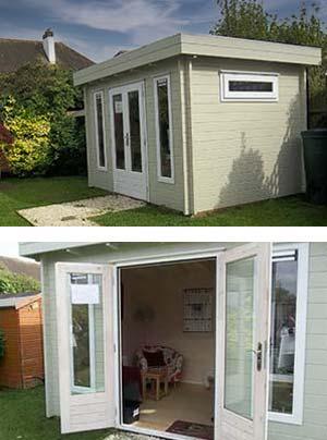 Hove Garden cabin